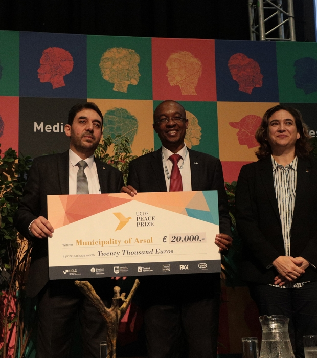 Arsal UCLG Peace Prize 2019 winner!